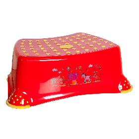 Табурет детский Step / Степ Красный (Papatya-TM)