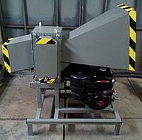 Измельчитель веток ДС-100БД16 (диаметр ветки до 100 мм, двигатель 16 л.с., подрібнювач гілок, дробилка веток)