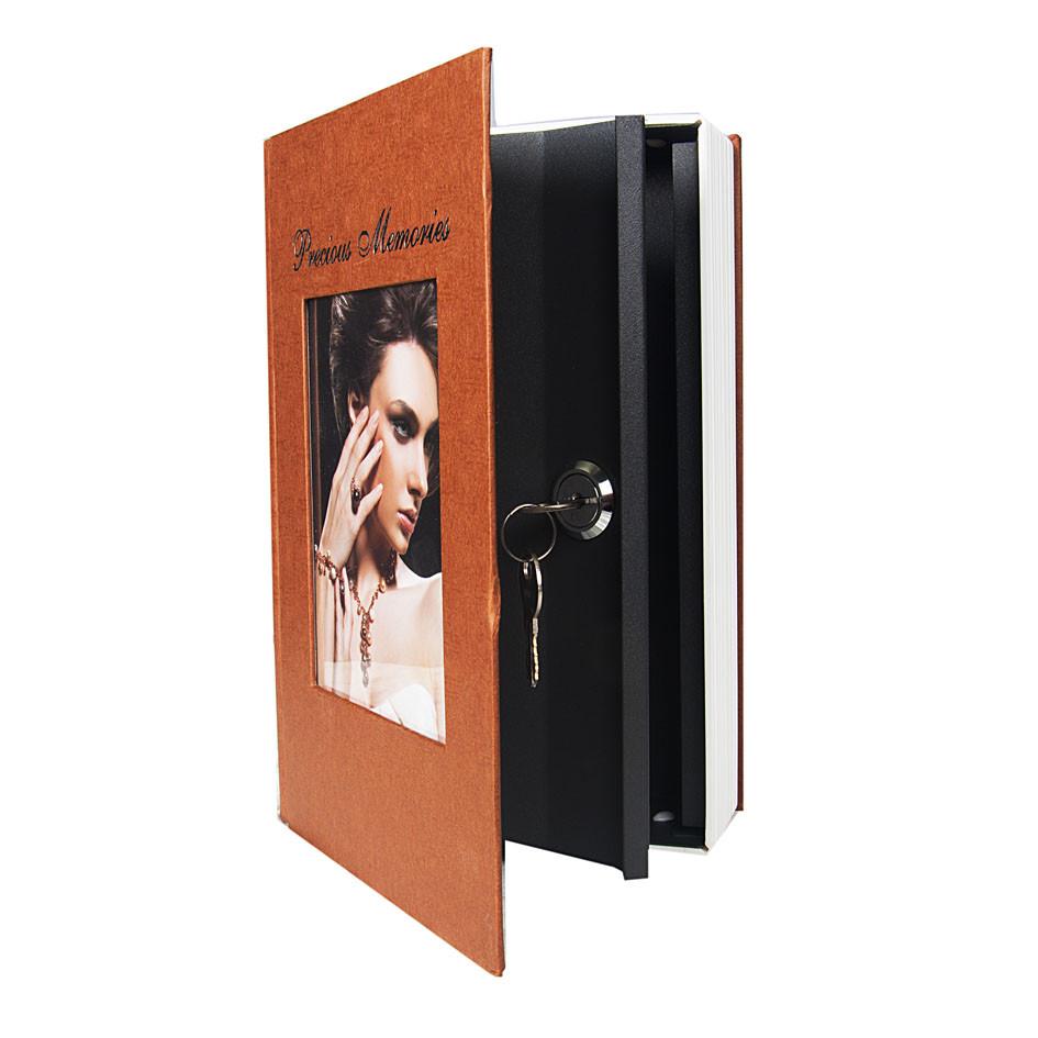 Металлическая книга-тайник TS 0709