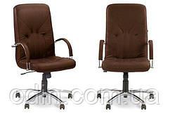 Кресло Manager Steel Chrome Comfort  (Новый стиль)