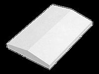 Крышка для заборов - двускатная, 600х280х65, перлина, Авеню
