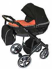 Детская коляска универсальная 2в1Broco Monaco coral(Броко Монако, Польша)
