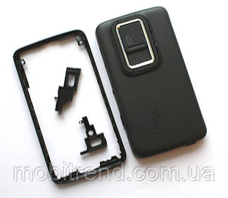 Корпус Nokia N900 black high copy