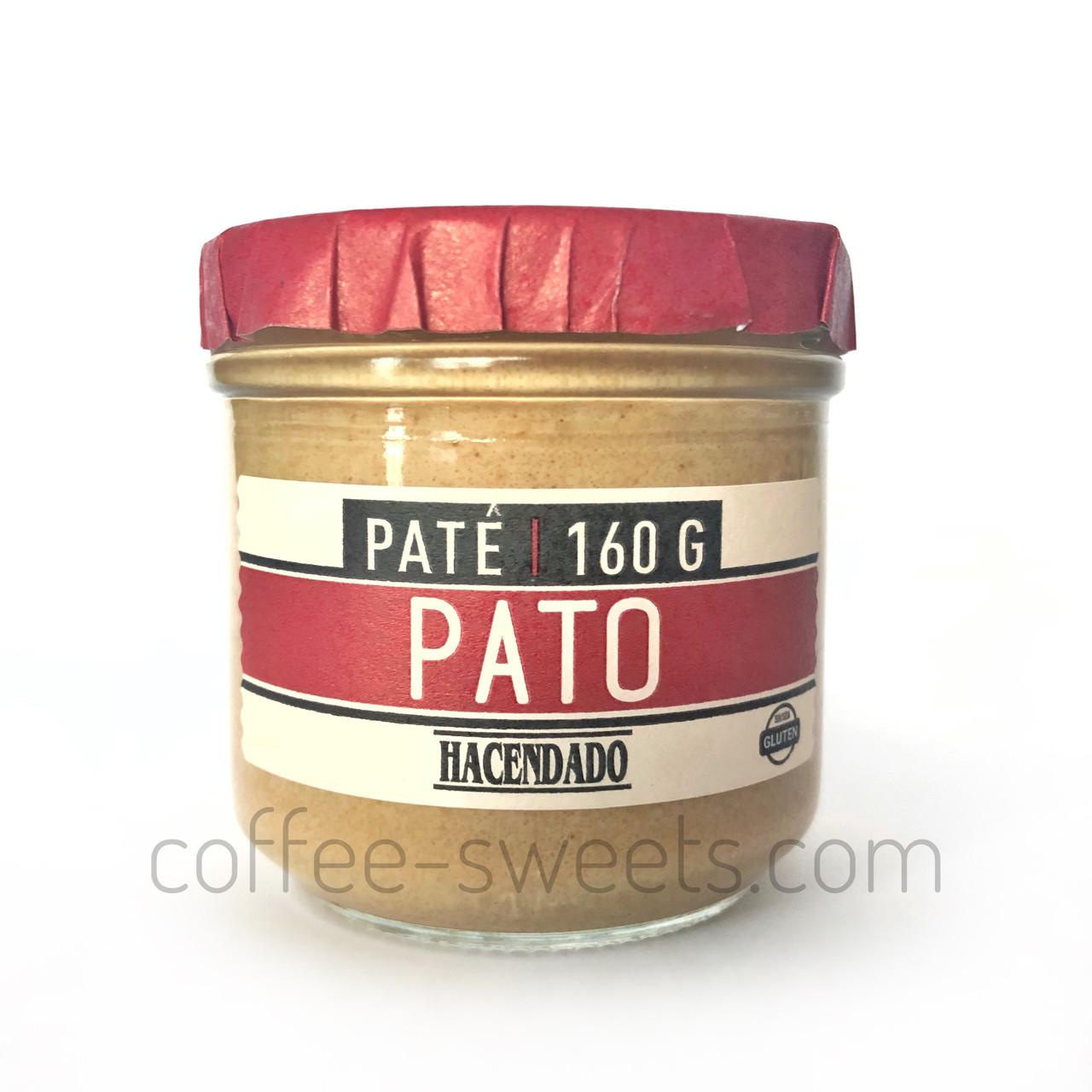 Паштет Hacendado Pate Pato(с утиной печенью) 160 g