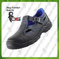 Сандали рабочие кожаные с металлическим носком CANIS CXS Terrier 806 S1 (натур.кожа)