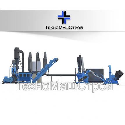 Мини завод для производства пеллет  до 400 кг/час. Полный комплекс., фото 2