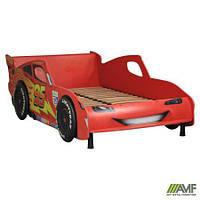 Кровать Тачки 900Х2000 Дизайн Дисней Тачки Молния Маккуин гонки 149004