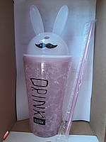 Термостакан Кролик с ушками ice cup 450 мл