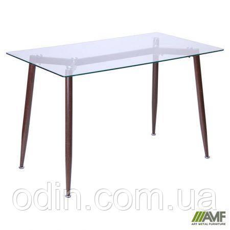 Стол обеденный Tilia Каркас орех/стекло прозрачное 513098