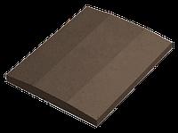 Крышка для заборов - двускатная со срезом, 600х480х60, венге, Авеню