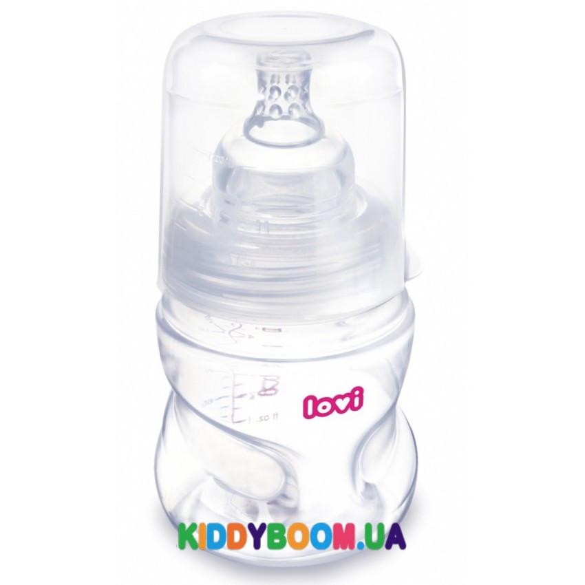 Бутылочка для кормления самостерилизующаяся  Lovi Super vent (150 мл)  21/572