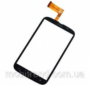 Сенсор HTC T328e Desire X black orig
