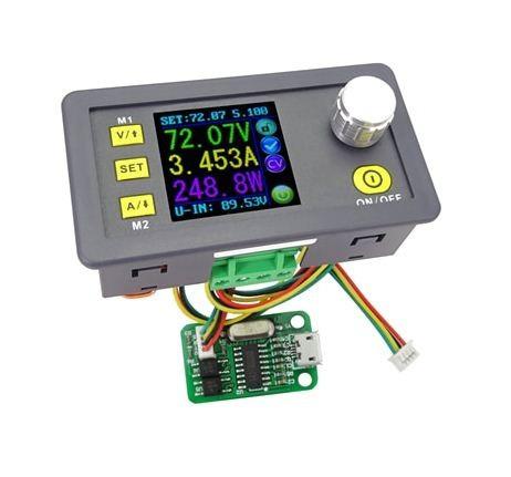 Набор для сборки ЛБП DPS8005-USB (понижающий DC-DC программируемый источник питания 0-50V 0-5A)