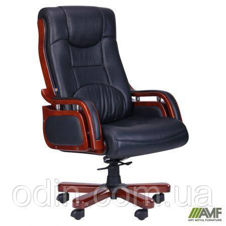 Кресло Ричмонд, кожа черная (642-B+PVC) 038668