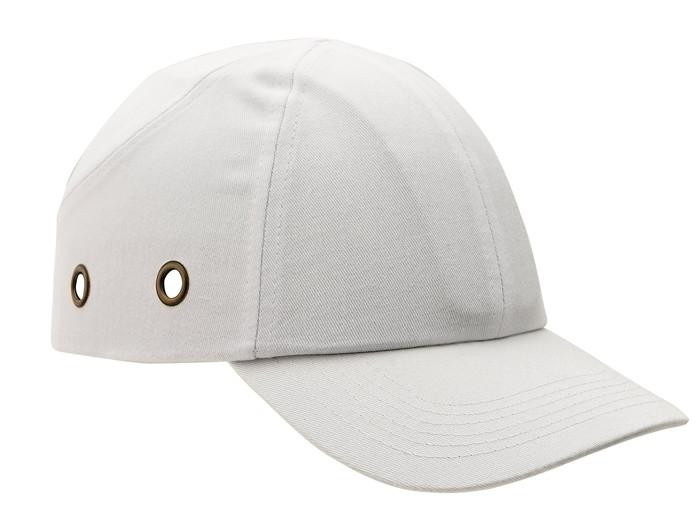 Каска - бейсболка (каскетка) защитная Duiker однотонная белая