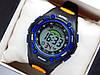 Водонепроникні спортивні наручний годинник iTaiTek IT-808 - чорні з синім