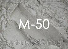 Раствор цементный М 50 собственного производства