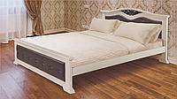 Спальня  Перлына из массива ольхи белая