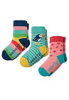 Носки Frugi детские разноцветные , Little Socks 3 пары