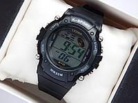 Водонепроникні спортивні наручний годинник Lasika W-F20 - чорні, фото 1