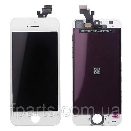 Дисплей для iPhone 5G с тачскрином, White (AAA), фото 2