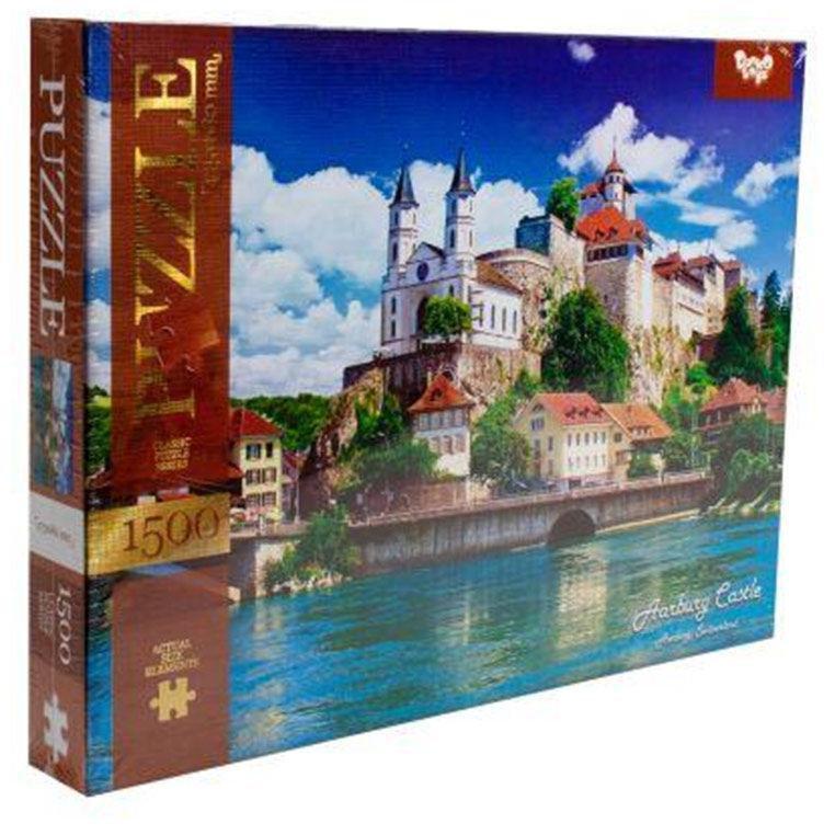 Пазлы Danko Toys Aarburg Castle 1500 элементов (С1500-03-05)