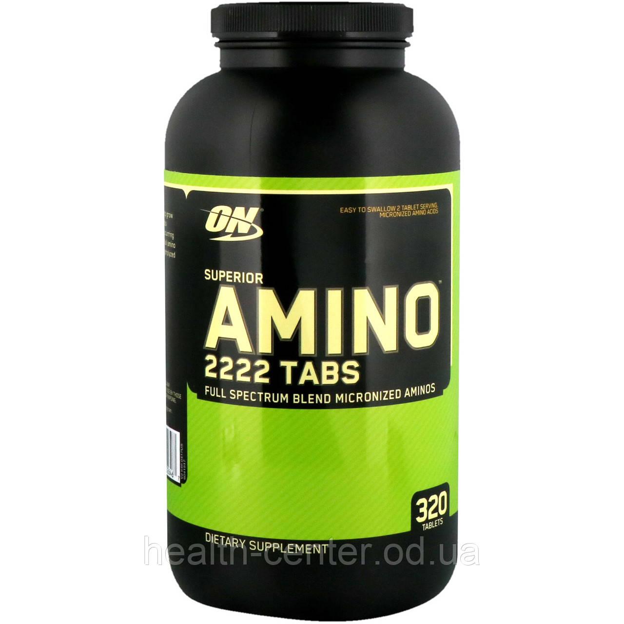 Аминокислоты 320 таб Optimum Nutrition USA