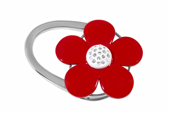 Сумкодержатель Jinli Цветок Красный (JIN118)
