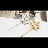 Невидимка канадский лист, 1 шт, фото 2