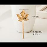 Невидимка канадский лист, 1 шт, фото 4