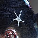 Невидимка для волос морская звезда, 1 шт, фото 4