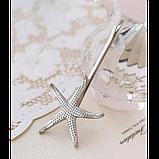 Невидимка для волос морская звезда, 1 шт, фото 2