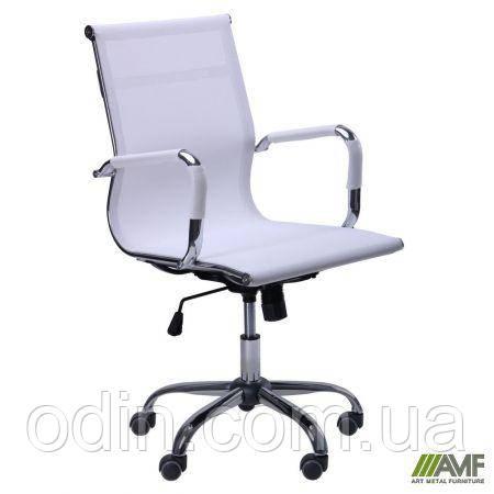 Кресло Slim Net LB (XH-633B) белый 512070