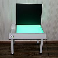 Детский световой стол песочница 5 в 1 планшет.Игровой столик.