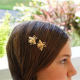 Невидимка для волос Пчела, 1 шт, фото 2