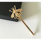 Невидимка для волос Пчела, 1 шт, фото 3