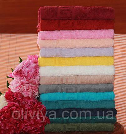 Набор полотенец т. зеленый , фото 2
