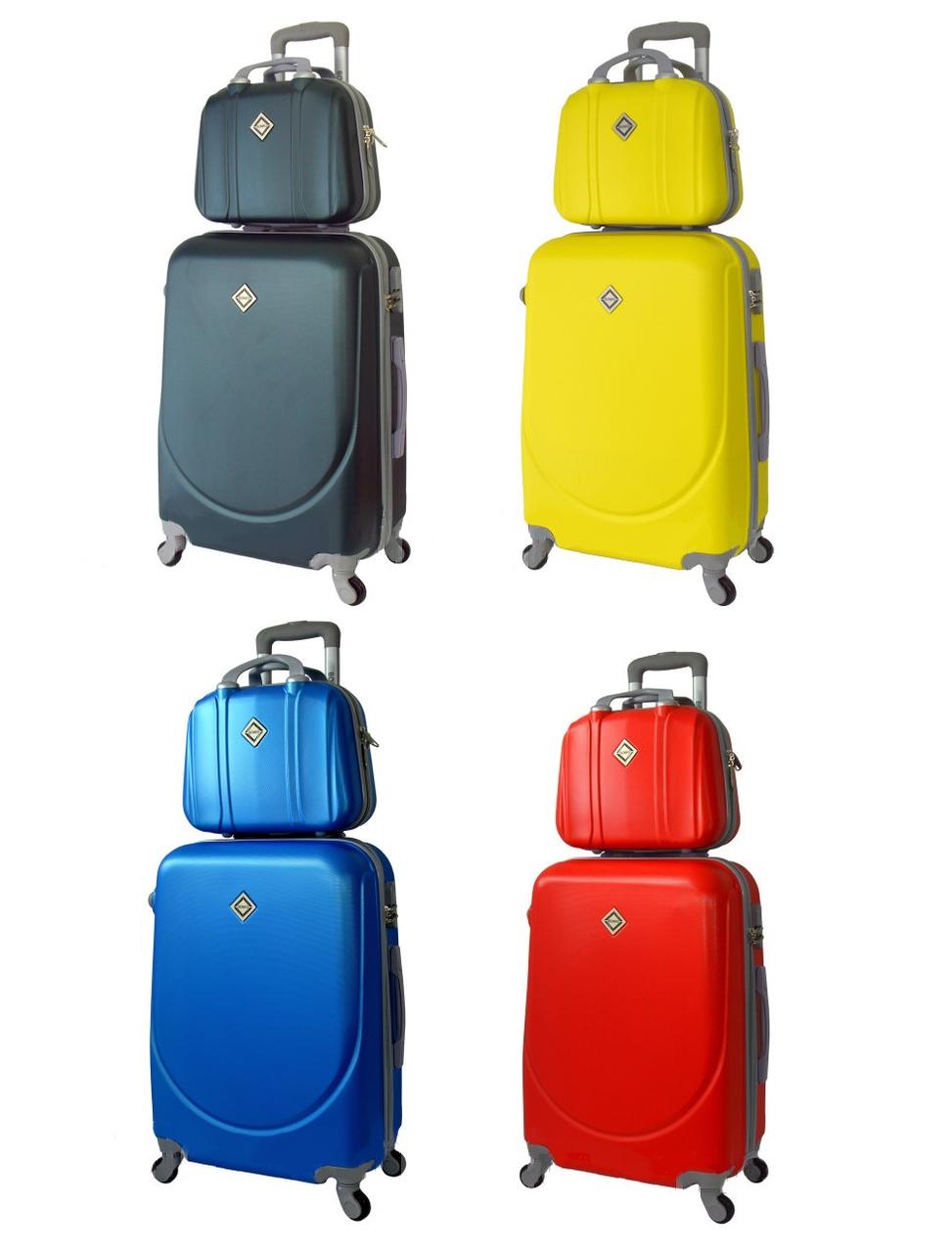 Комплект дорожный чемодан и кейс Bonro Smile Средний