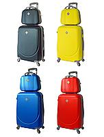 Комплект дорожный чемодан и кейс Bonro Smile Средний, фото 1