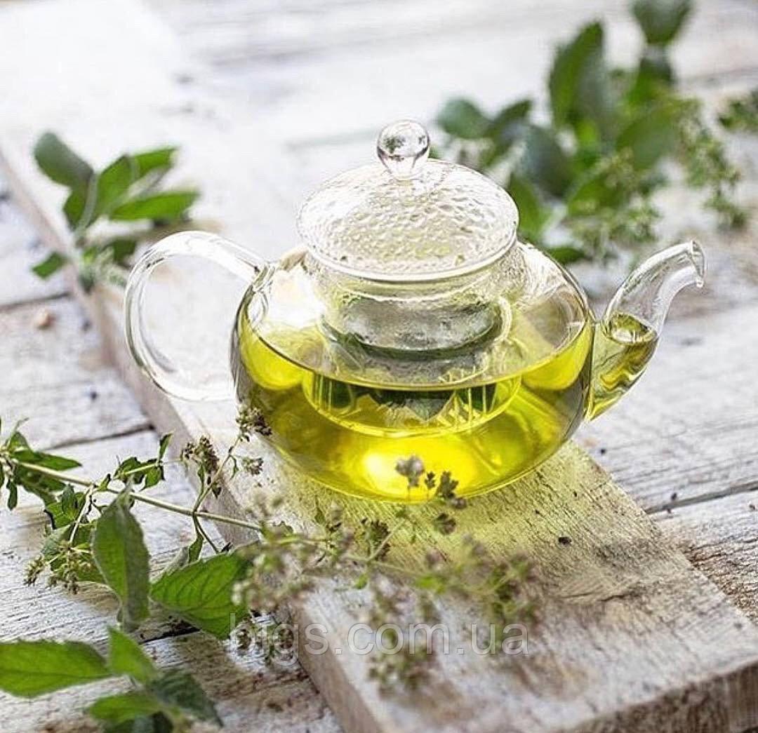 """Чайный заварник стеклянный с ситом """"Греческий"""" 1100 мл ( заварник для чая )"""
