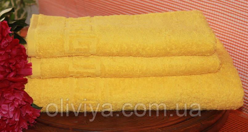 Набор полотенец желтый , фото 2