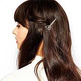 """Невидимка для волос """"Ножницы"""", 1 шт, фото 5"""
