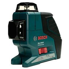 Лазерний рівень нівелір Bosch GLL 3-80 P IP 54 3 лінії 360 градусів