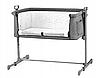 Детская кроватка Kinderkraft NESTE (темно-серый)