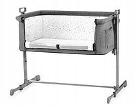 Детская кроватка Kinderkraft NESTE (темно-серый), фото 1