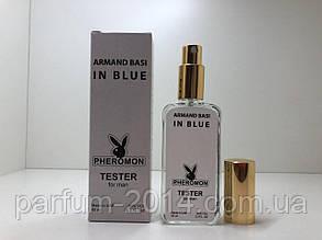 Тестер чоловіча туалетна вода з феромонами Armand Basi in Blue 65 мл ОАЕ (репліка)