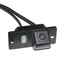 Камера заднего вида универсальная ауди AUDI A1 A3 A4 A5 A6 RS4 TT Q5 Q7 цветная матрица CCD, фото 1