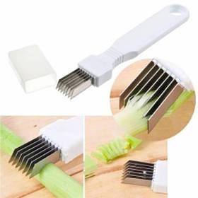 Ніж для різання нарізки зеленого цибулі, часнику, зелені, чилі Negi Cutter