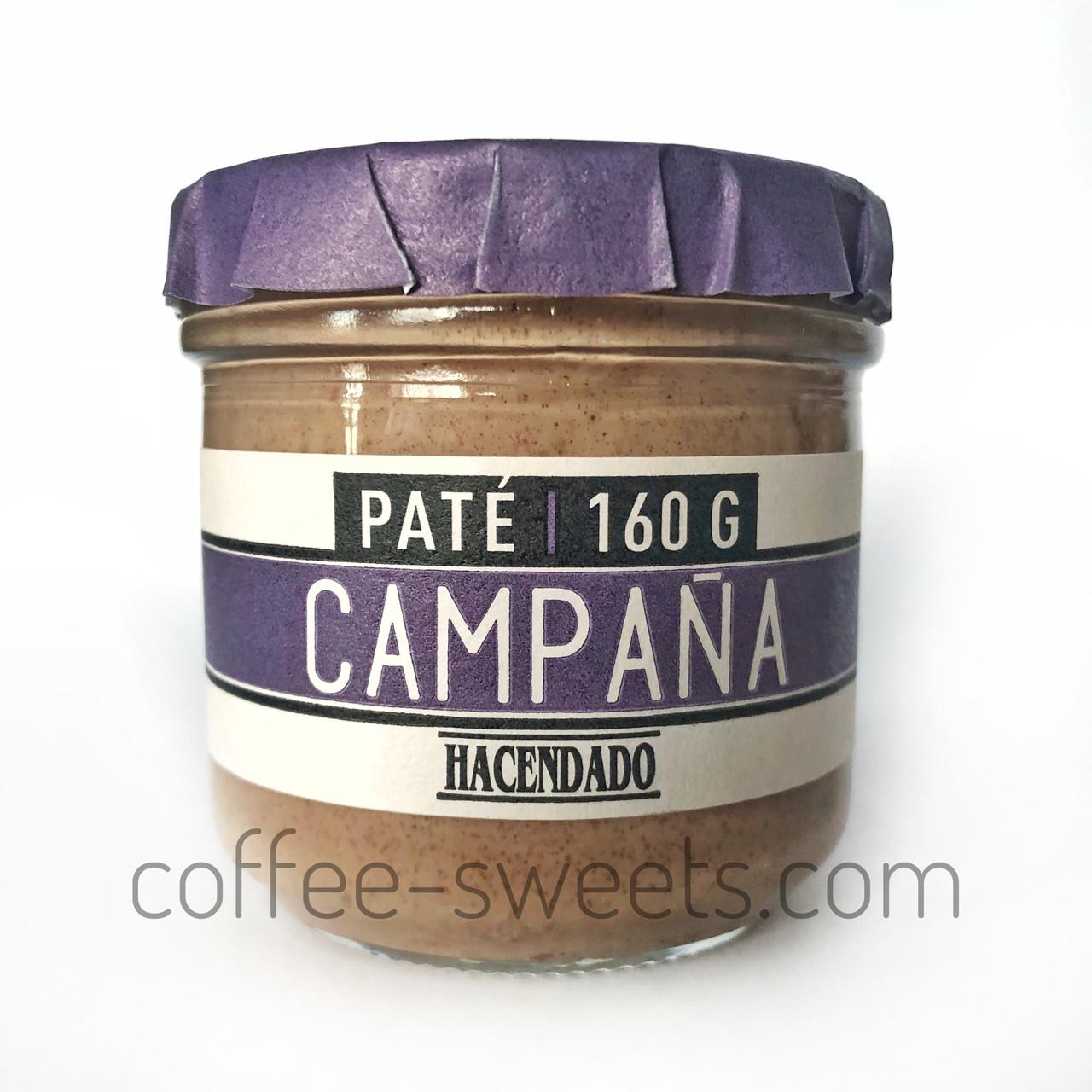 Паштет Hacendado Pate Campana (свинной) 160 g