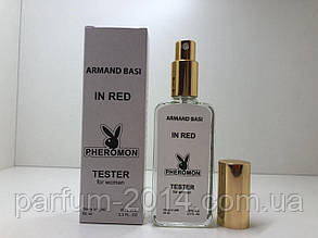 Тестер жіноча туалетна вода з феромонами Armand Basi in Red White 65 ml ОАЕ (репліка)